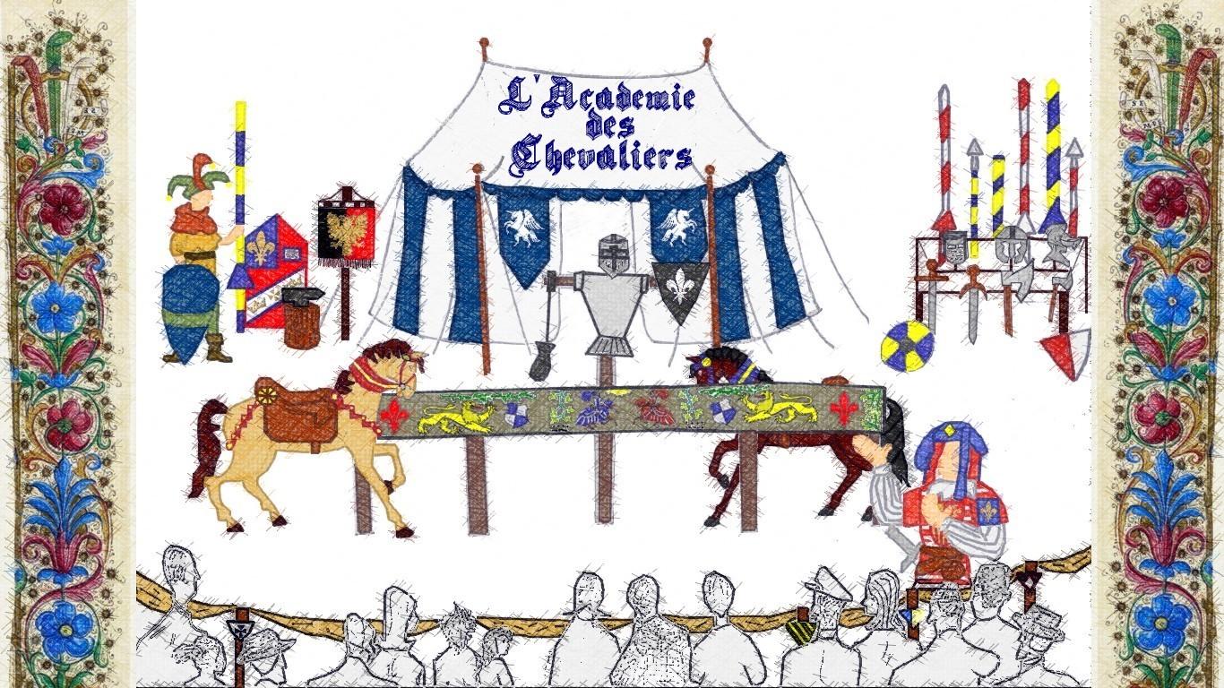 Medieval, citadelle, bitche, spectacle, equestre