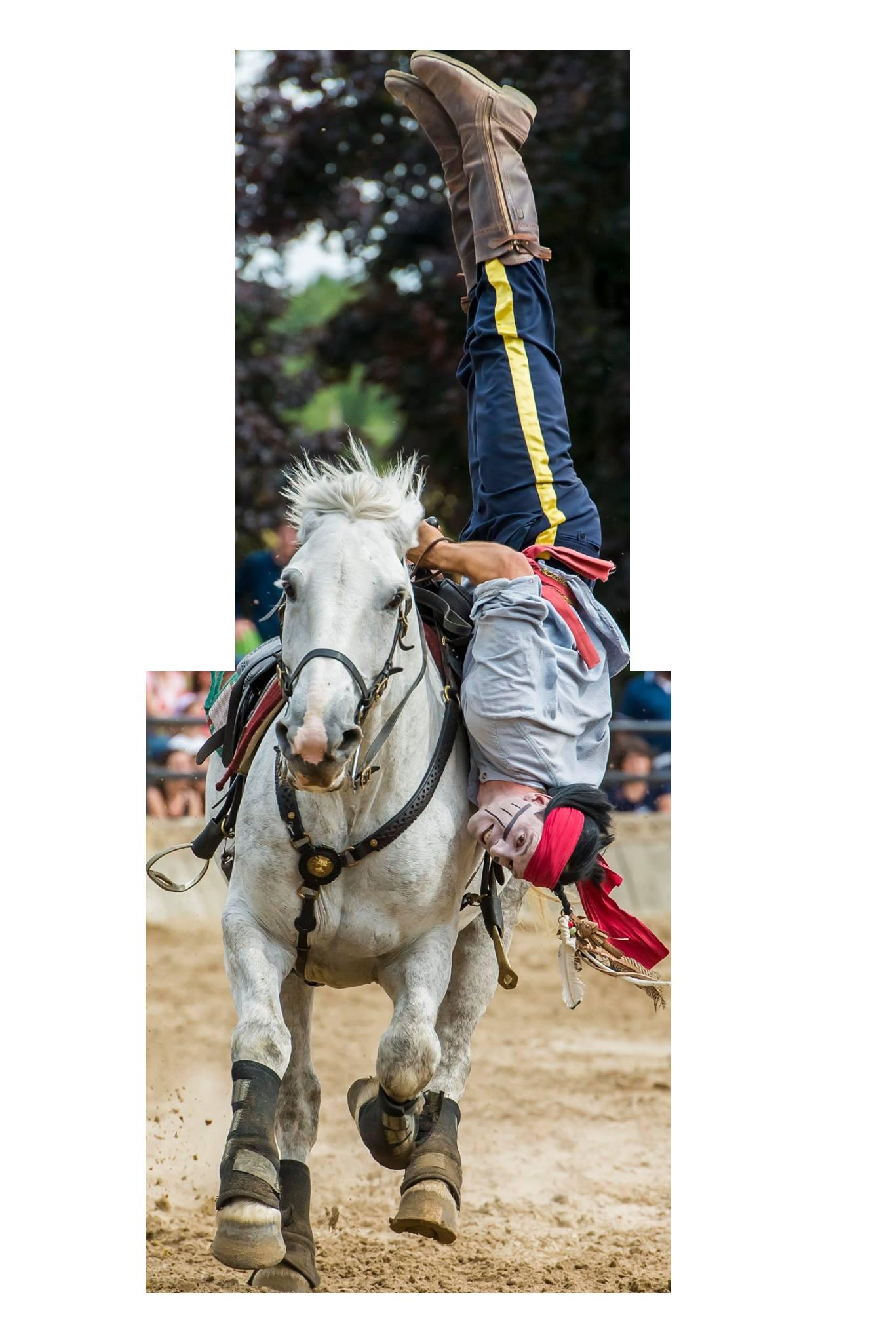 Louis Bujeau Fucking Dead cascades cheval spectacle